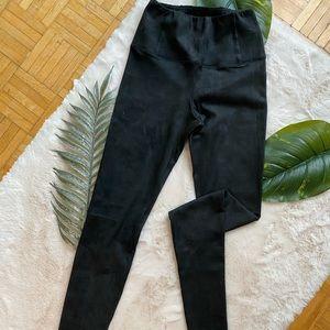 Aritzia faux sued leggings